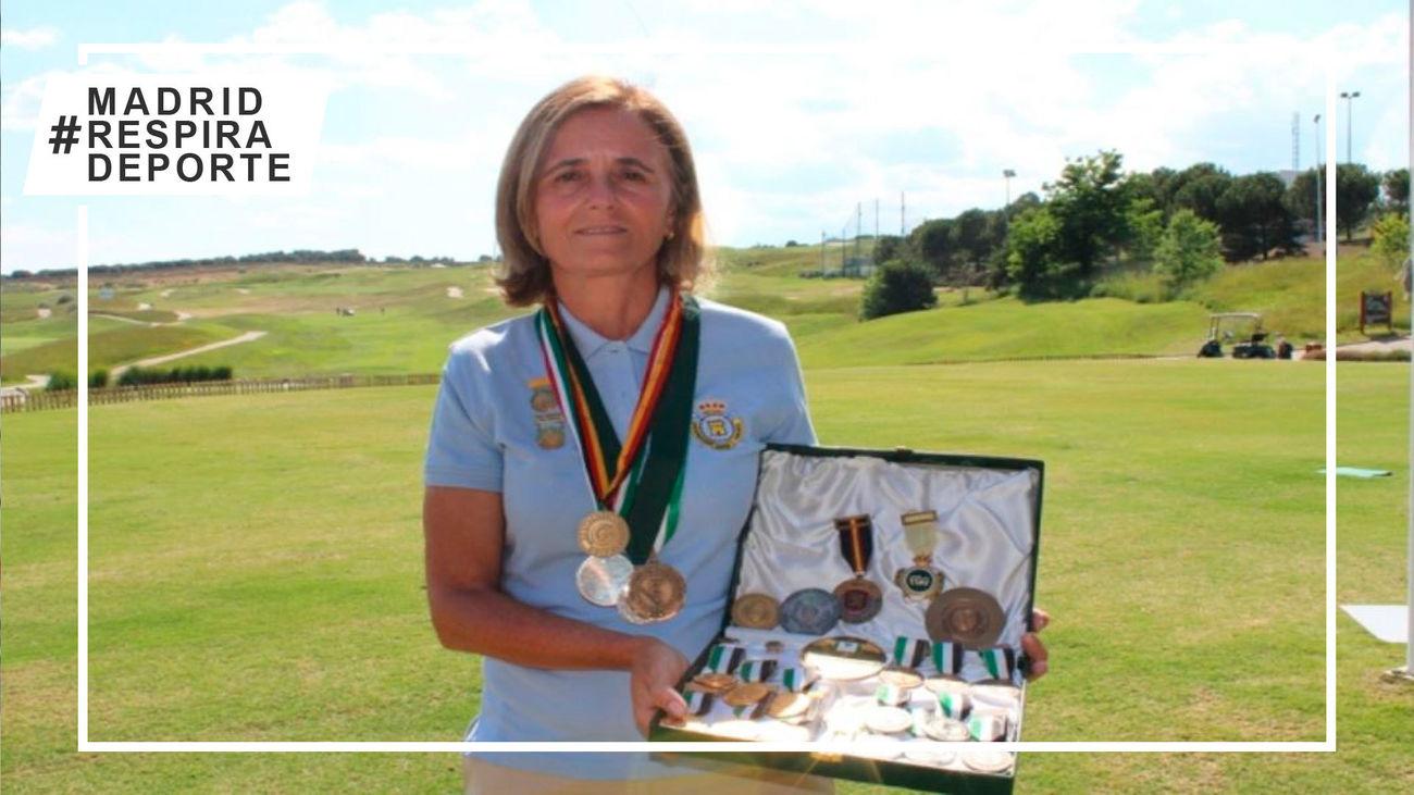 Macarena Campomanes , nº1 del ranking mundial senior femenino de golf