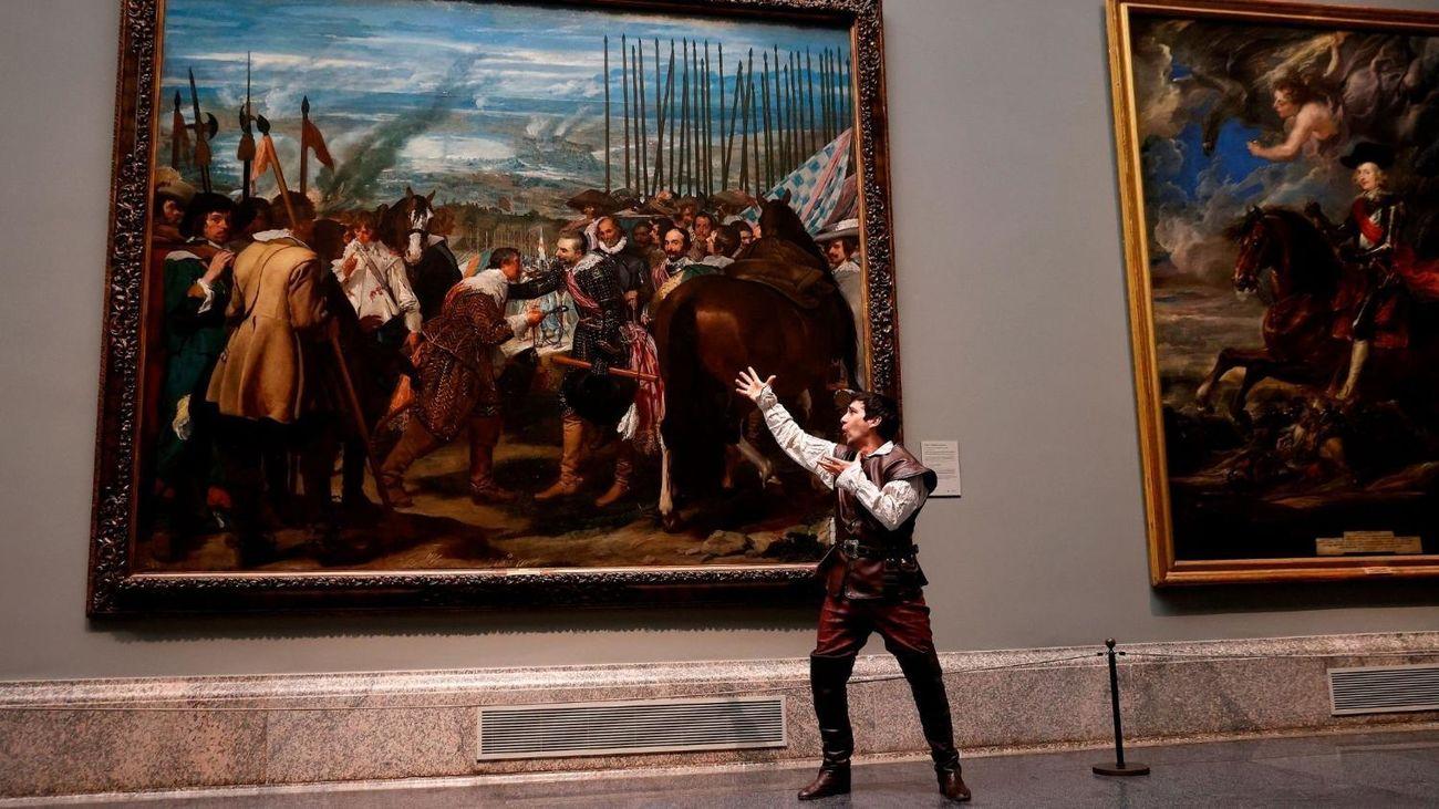 El Museo Nacional del Prado abre sus salas al teatro con 'Soldado'