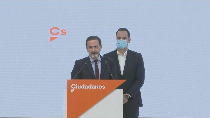 Bal será el candidato de Cs a la Comunidad de Madrid tras las retiradas de Aguado y Bermejo