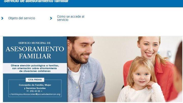 Pozuelo ofrece apoyo a las familias a través del servicio de Asesoramiento Familiar
