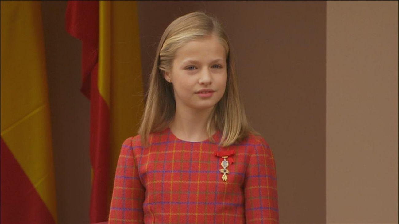 El 30 aniversario del Instituto Cervantes, primer acto en solitario de la Princesa Leonor