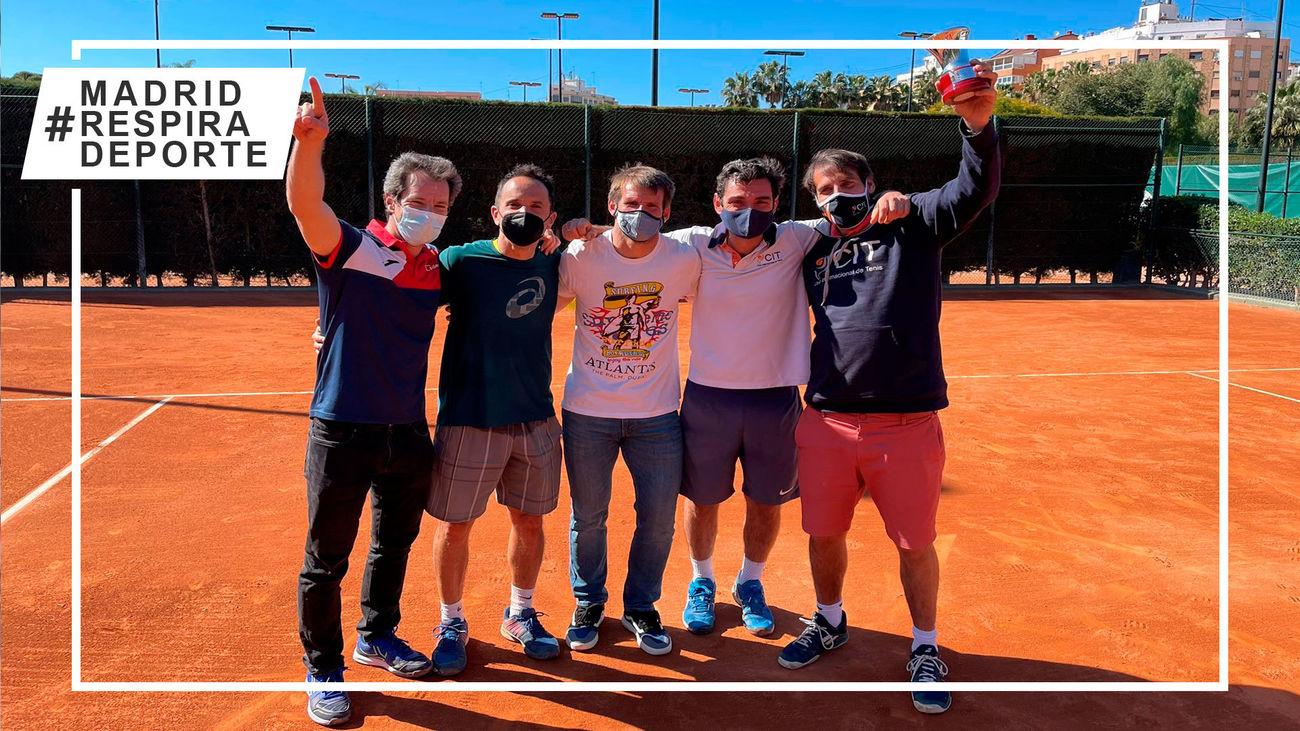 El Club Internacional de Tenis de Majadahonda, campeón de Españapor Equipos Masculinos +40