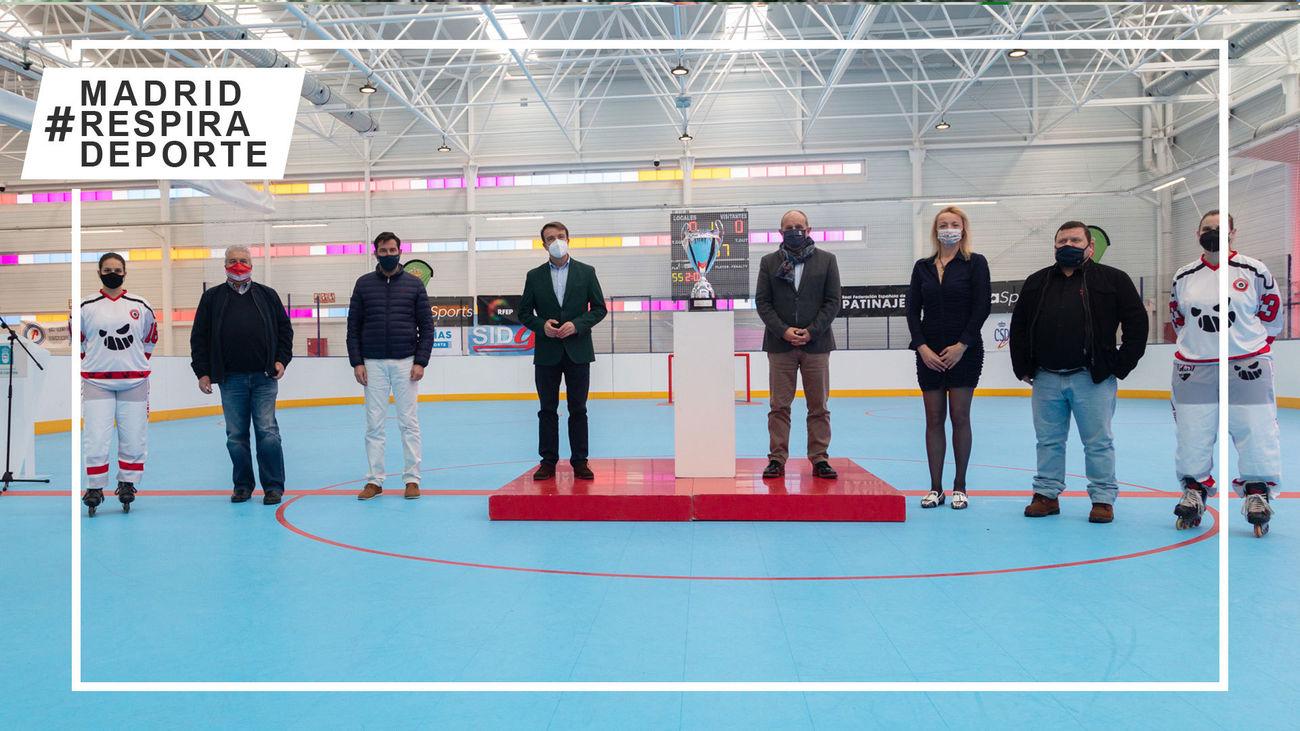 Las Kamikaces de Tres Cantos, ante 'su' Copa de la Reina de hockey línea