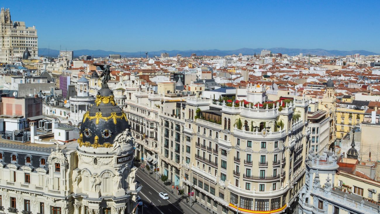 El impensable crecimiento de Madrid en solo 50 años