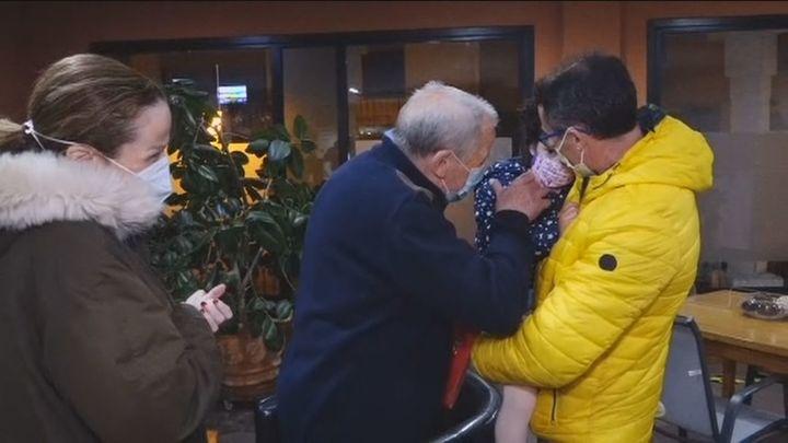Sorprenden a su padre en directo en una residencia de Manzanares el Real