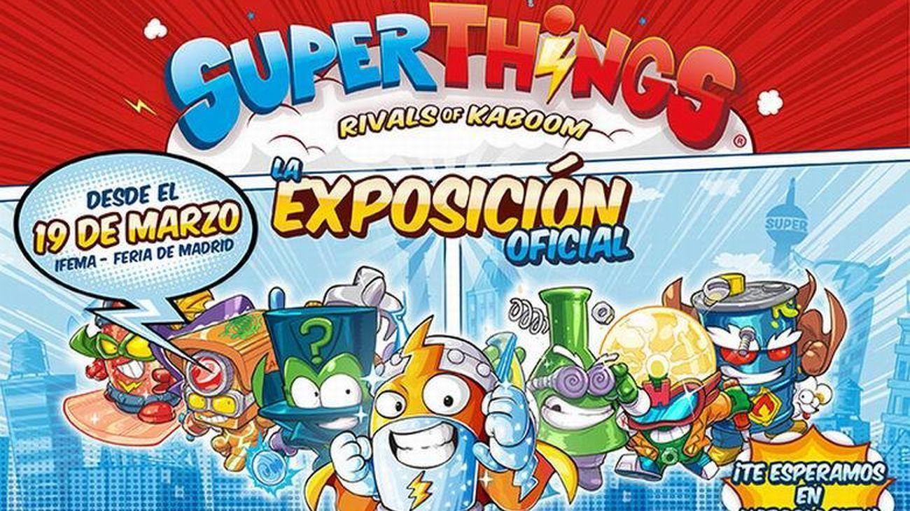La primera gran exposición dedicada a los juguetes 'SuperThings' en IFEMA