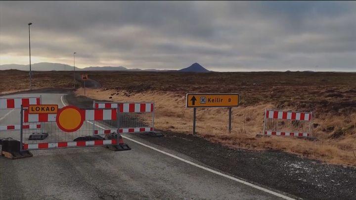 Islandia en alerta por una erupción volcánica a 40 kilómetros de la capital