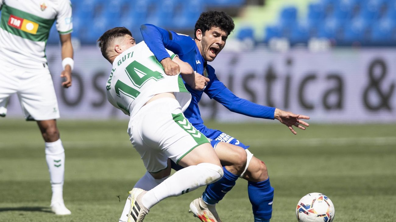 1-1. Edgar Badia frena al Getafe
