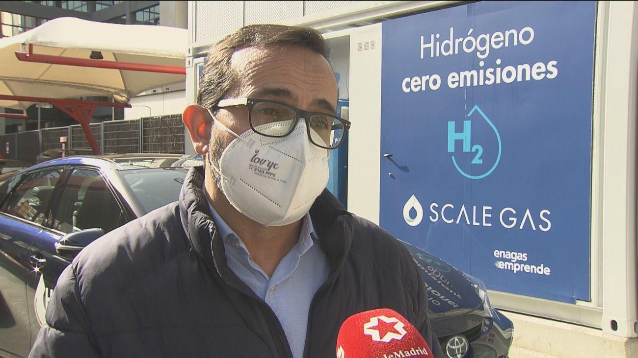 Los coches movidos por hidrogeno cuentan ya con su primera 'hidrogenera' en Madrid