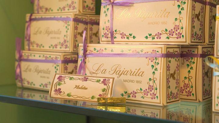 Las madrileñas violetas de La Pajarita