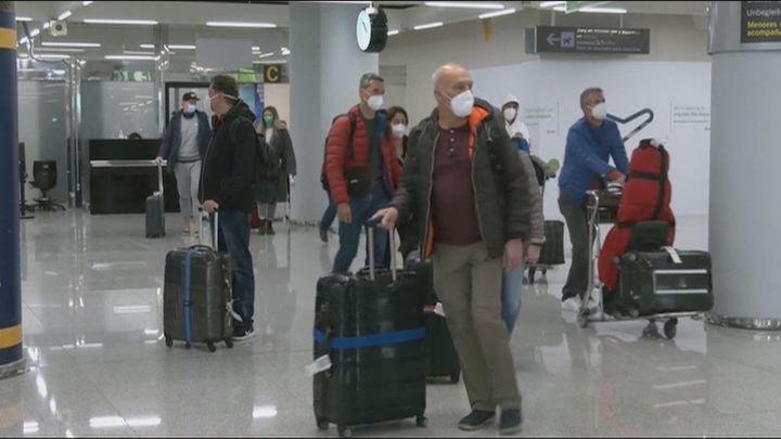 Los aviones de TUI vuelven a volar a Mallorca, destino turístico para los alemanes en Semana Santa