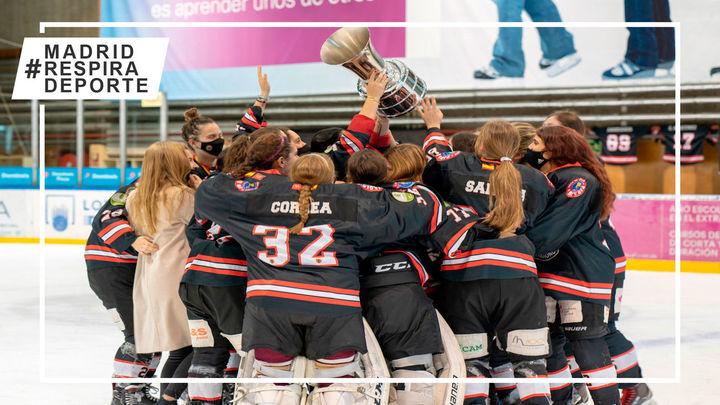 El Hockey Majadahonda gana su quinta liga consecutiva