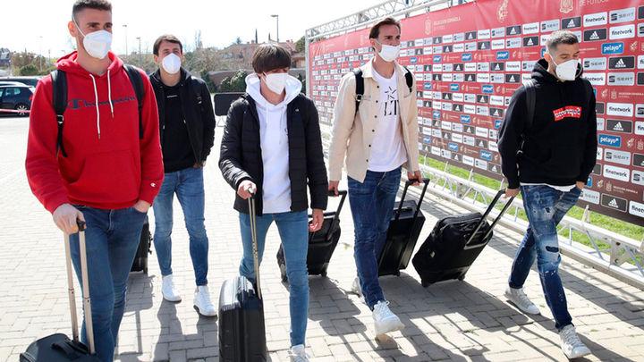 La Selección española se concentra en Madrid