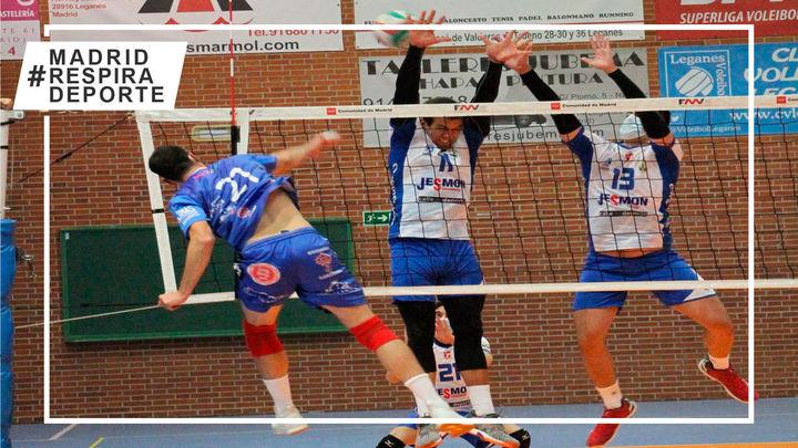 Voleibol Leganés se queda fuera de la fase de ascenso a la Superliga Masculina