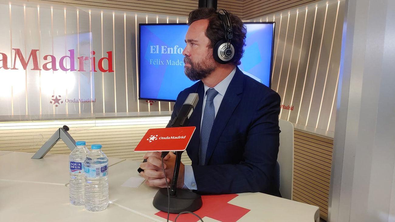 """Espinosa de los Monteros: """"Si necesitamos al PP para gobernar en Madrid, seremos generosos"""""""