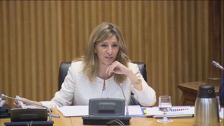 Yolanda Díaz requiere por machismo al diputado Diego Movellán para que retire sus palabras