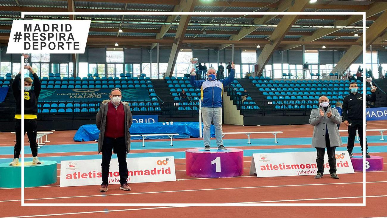 Doblete del Atletismo Alcorcón en el Campeonato de Madrid de Clubes
