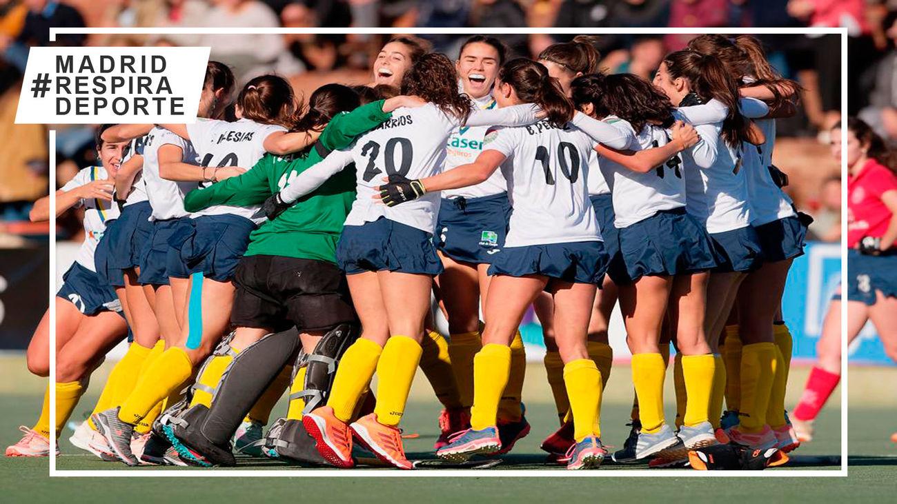 Club de Campo gana al Polo y sigue invicto en la liga femenina de hockey hierba
