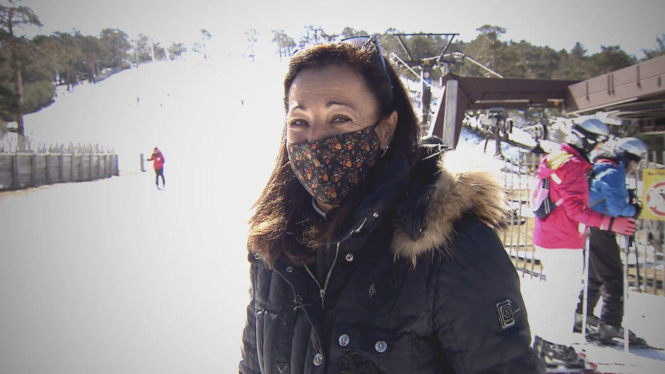 La saga Fernández Ochoa lamenta el cierre de la estación de esquí de Navacerrada