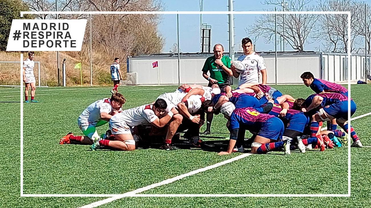 Rugby Alcobendas vence al Barça y no pierde comba con el líder