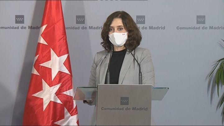 Ayuso  pide al Gobierno criterios transparentes y objetivos en el reparto de los fondos europeos