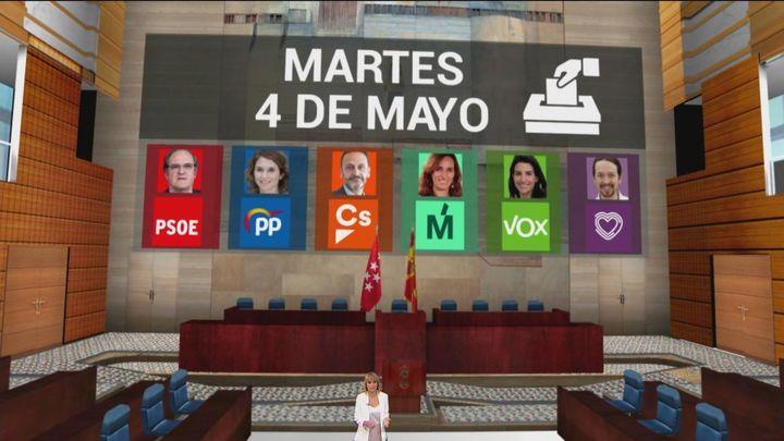 PP, PSOE y Ciudadanos presentan sus listas electorales para el 4 de mayo