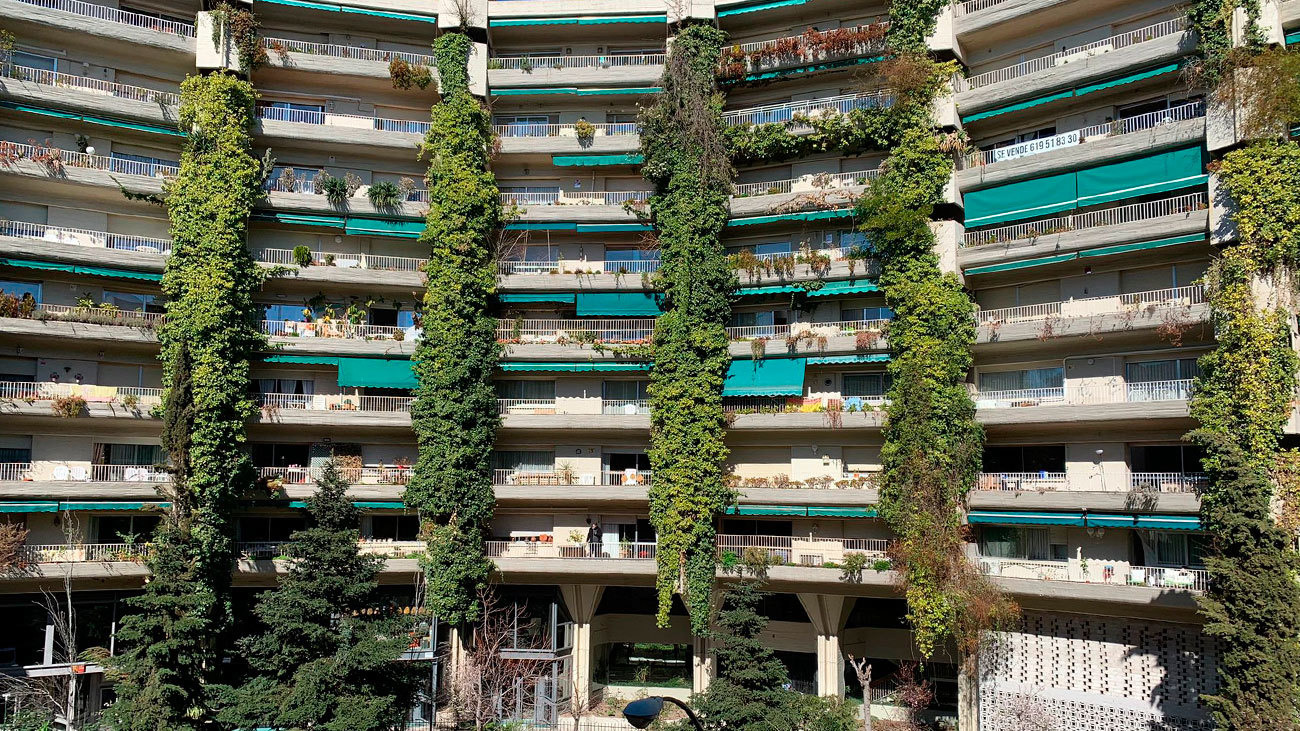 Fachada del edificio Princesa, Madrid