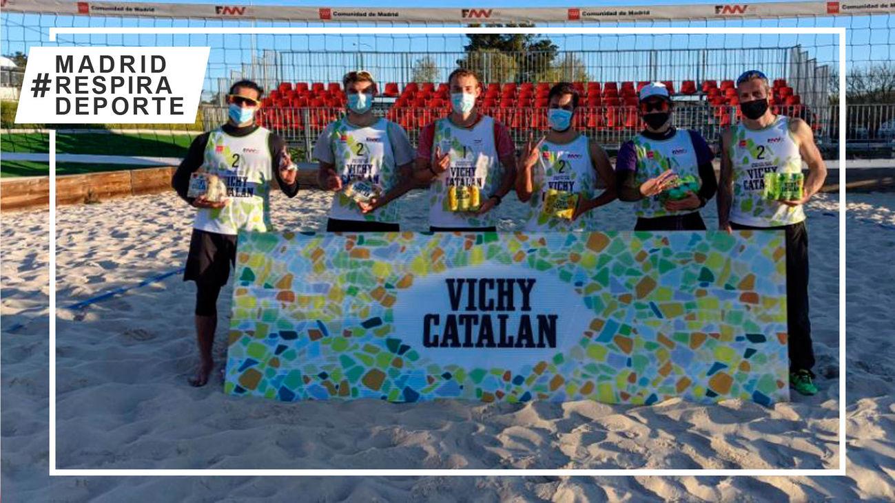 Andric-Salleras y Guiñazú-Pickert se llevan la séptima prueba de la Liga de Invierno de voley playa