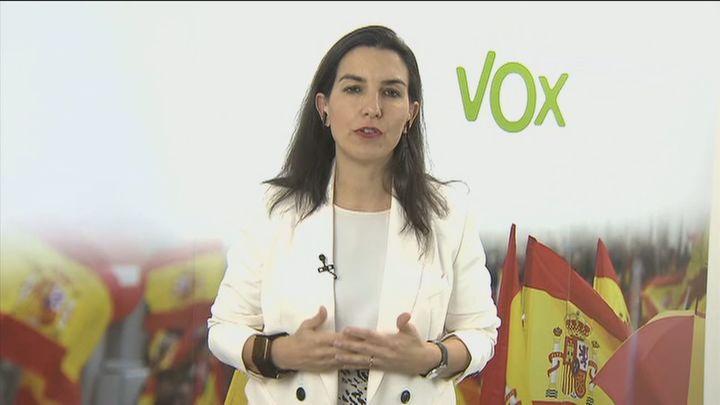 Vox confirma a Rocío Monasterio como candidata para la Comunidad de Madrid