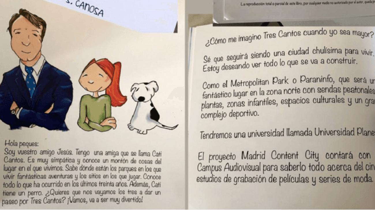El libro infantil 'Tres Cantos, una ciudad de cuento'