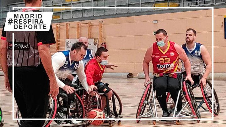Jornada de derrotas para Las Rozas y Getafe en la Liga de Baloncesto en Silla de Ruedas