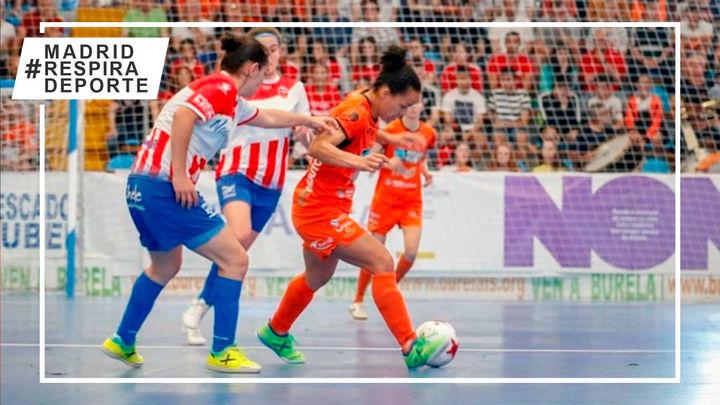 Futsi Atlético, Alcorcón y Móstoles ya conocen el calendario de la segunda fase de la liga de fútbol sala femenina