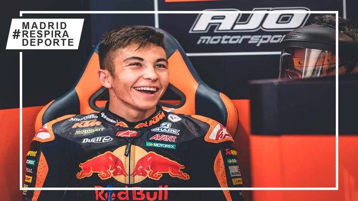 """Raúl Fernández: """"Sueño con ser campeón del mundo de MotoGP"""""""