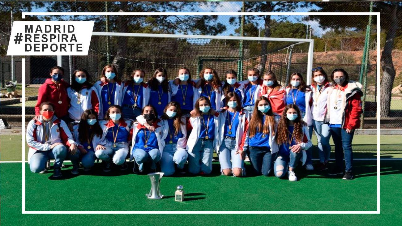 La Comunidad de Madrid, campeona de España Autonómicas Sub'16 de hockey hierba