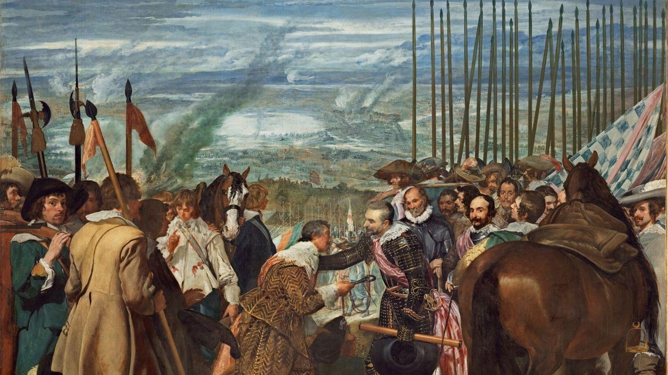'La rendición de Breda' cuadro en torno al que giraba el monólogo retirado