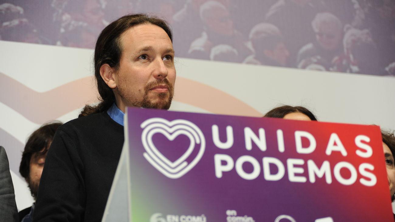 Pablo Iglesias incluye a su núcleo duro en la lista de Unidas Podemos para el 4M