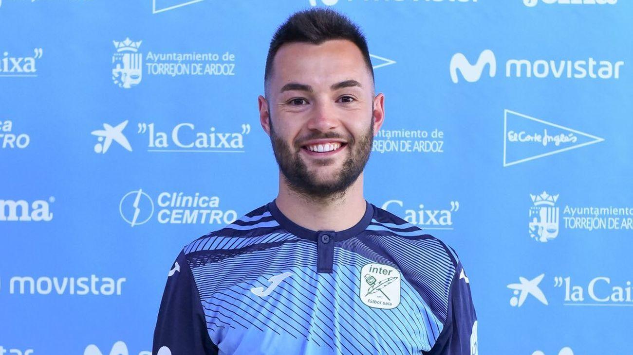 """Dani Saldise, jugador de Inter: """"Me veo levantando la Copa de España"""""""