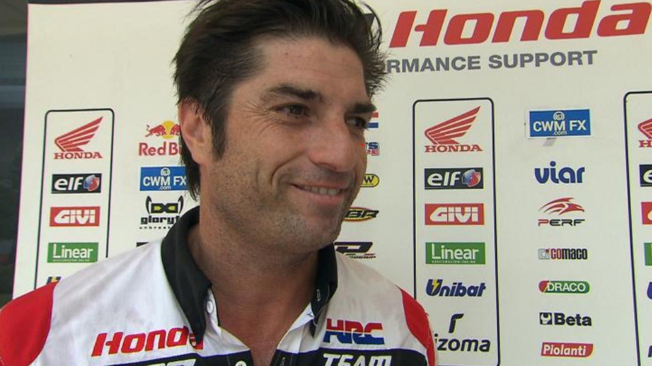 """Óscar Haro, director Honda LCR: """"Cuando vuelva Marquez, será al cien por cien"""""""