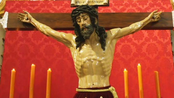 El Cristo de los Alabarderos se podrá visitar en la Catedral de las Fuerzas Armadas en Semana Santa