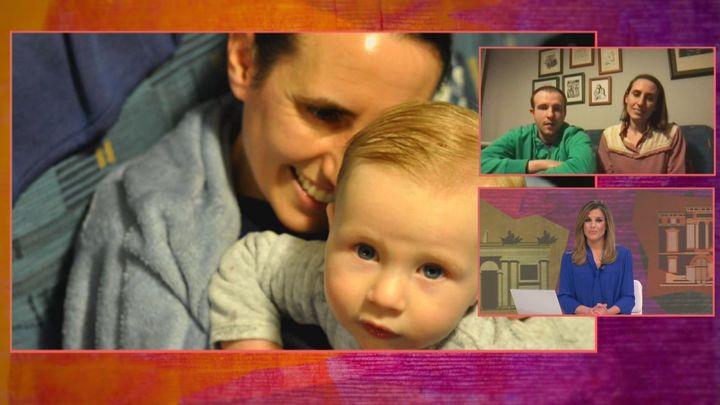 Elliot, el pequeño que solo conoce a sus abuelos  por la pantalla debido al coronavirus