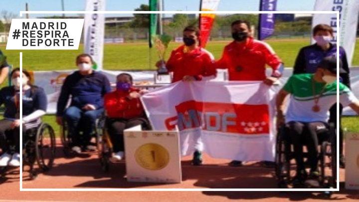 Madrid, campeón de España de atletismo adaptado