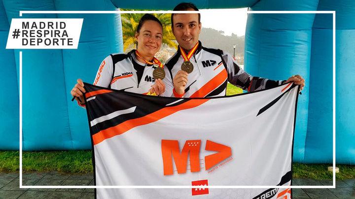 Enrique Floriano Millán y Clara Stefanelli, campeones de España de remo de larga distancia