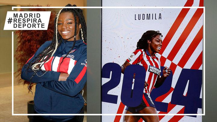 Ludmila da Silva renueva con el Atleti hasta 2024