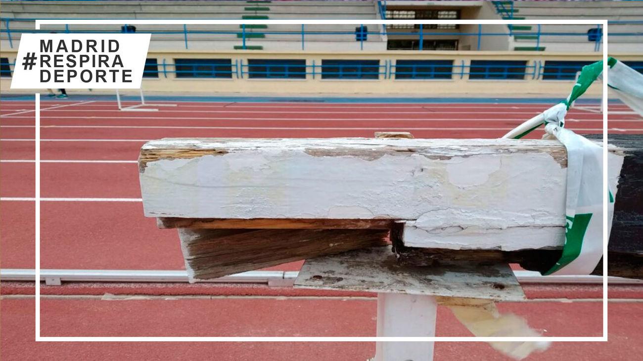 Pista de atletismo de Prado Santo Domingo