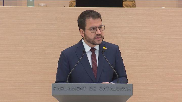 Aragonès no obtiene los votos necesarios del Parlament para su investidura