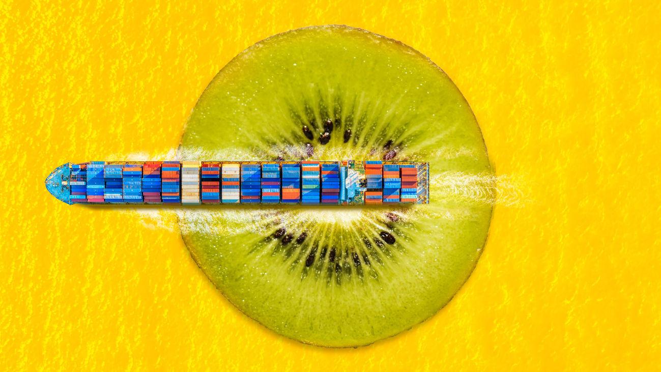 Comer un kiwi ecológico que viene de Nueva Zelanda, ¿es realmente ecológico?