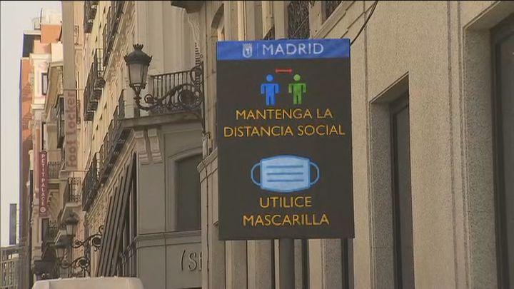 Refuerzo policial en Madrid para evitar aglomeraciones en calles, parques y lugares de culto