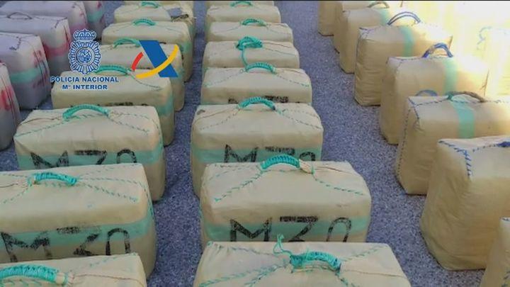 Desmantelada una red criminal internacional que introducía  grandes cantidades de hachís en Francia y Portugal