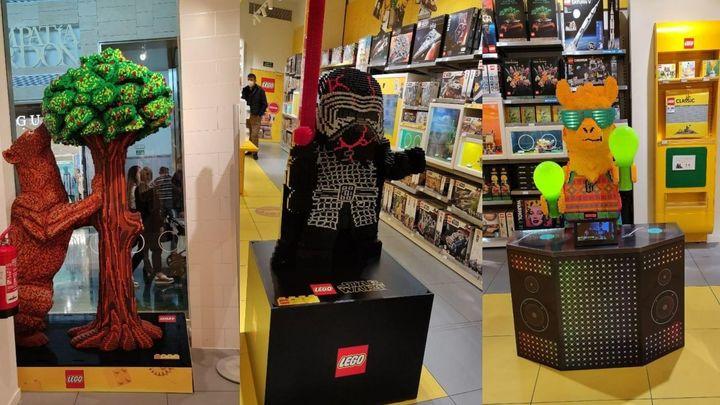 Nos adentramos en la tienda de una de las marcas más clásicas de juguetes: LEGO