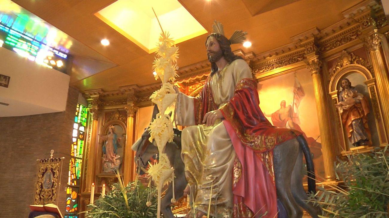 'La borriquita' vive una Semana Santa diferente